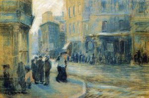 Arthur Clifton Goodwin - Up Tremont Street