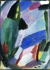 Alexej Georgewitsch Von Jawlensky - Variation: Winter II