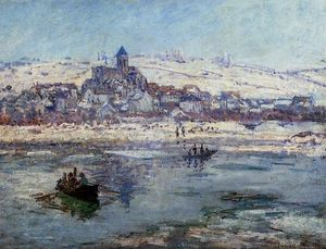 Claude Monet - Vetheuil im Winter