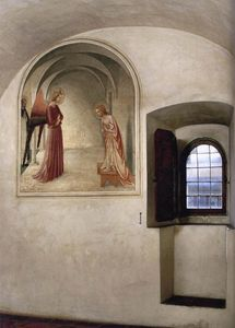 Fra Angelico - Ansicht of a zelle ( null di San Marco , Florence )