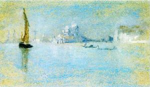 James Abbott Mcneill Whistler - ansicht von venedig