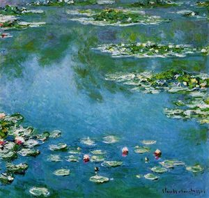 Claude Monet - Seerosen 15