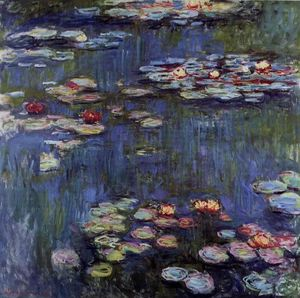 Claude Monet - Seerosen 54