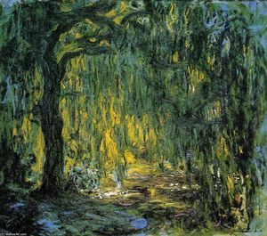 Claude Monet - Trauerweide