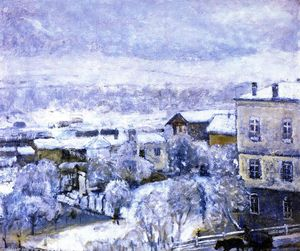 Frederick Carl Frieseke - winterlandschaft