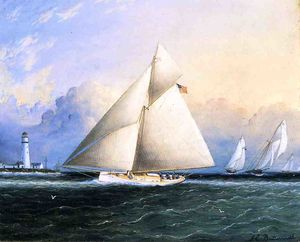 James Edward Buttersworth - yacht rennen