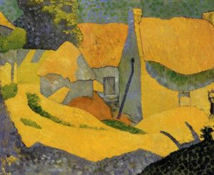 Paul Serusier - Gelb Farm in Pouldu