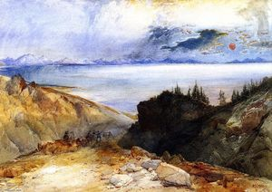 Thomas Moran - Yellowstone Lake