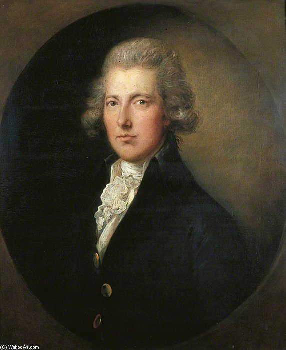 William Pitt der Jüngere - von Gainsborouth Dupont