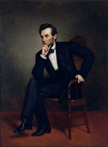 George Peter Alexander Healy - Abraham Lincoln -