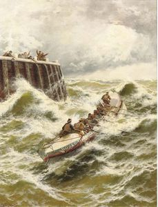 Thomas Rose Miles - Dover Lifeboat- die rettung
