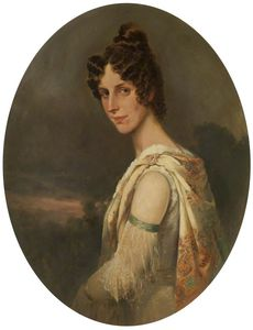 William Arnold Woodhouse - Der Artist-s Frau , Maria Elisabeth -