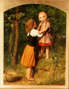 William Charles Thomas Dobson - Babes in der Wald
