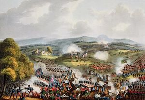 William Heath - Battle Of Quatre Bras