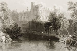 William Henry Bartlett - Kilkenny Castle