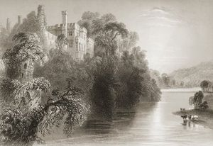 William Henry Bartlett - Lismore Schloss