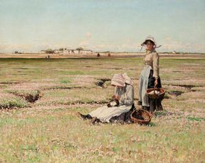 William Page Atkinson Wells - sommer nachmittag