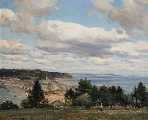 William Page Atkinson Wells - Teignmouth Von Torquay Straße