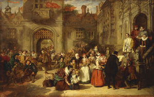 William Powell Frith - kommen von alter in der Olden Zeit -
