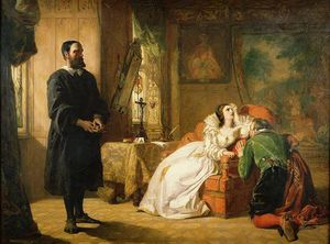 William Powell Frith - Klo Knox Rügend Maria