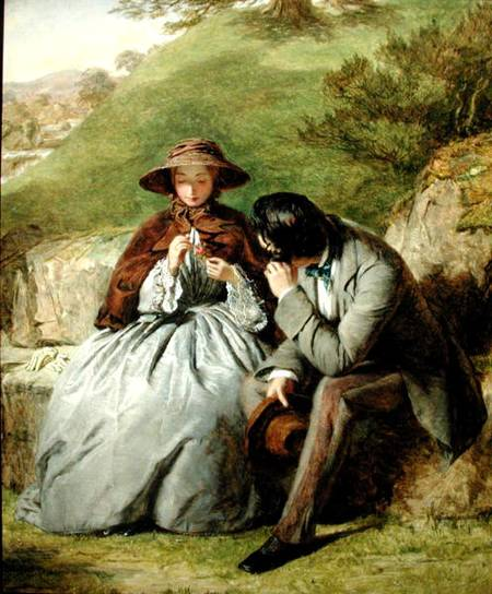 liebhaber -   von William Powell Frith (1819-1909, United Kingdom) | WahooArt.com