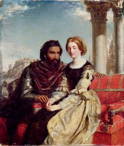 William Powell Frith - Othello Desdemona Und