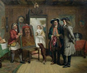 William Powell Frith - sir roger Von coverley und addison