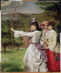 William Powell Frith - Die Messe Toxophilites -