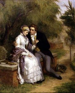 William Powell Frith - Die Geliebten Seat -