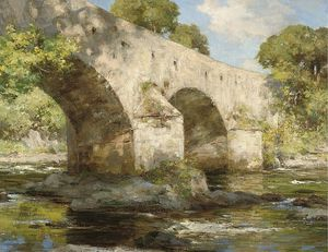 William Stewart Macgeorge - Brücke East Lothian