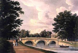 William Westall - Trinity College Brücke