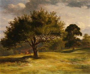 James William Giles - landschaft