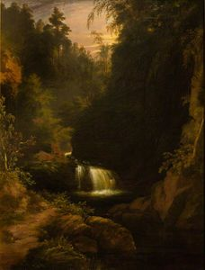 James William Giles - wasserfall
