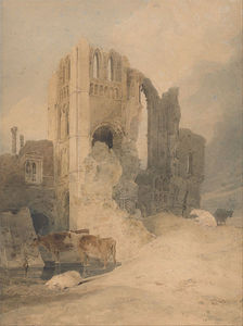 John Sell Cotman - Castle Acre Priory, Norfolk