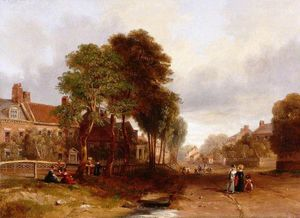 John Wilson Carmichael - Westoe Village, South Shields