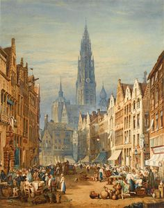Samuel Prout - markt tag