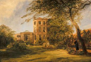 William Collins - ansicht von sir david Wilkie's haus in Pfarrei Platz , Kensington