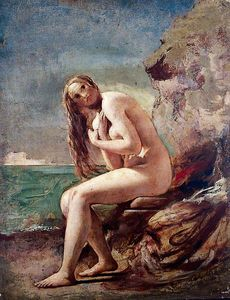 William Etty - weiblicher akt -