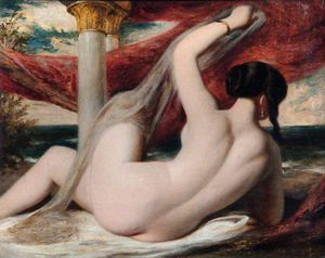 William Etty - Nackt
