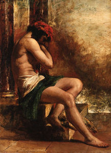 William Etty - Der Slave