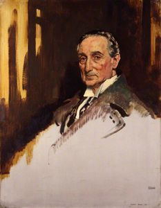 William Newenham Montague Orpen - Rufus Isaacs, 1. Marquise von der Lesung
