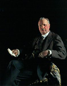 William Newenham Montague Orpen - sir thomas jaffrey , Bt , Lld , Vorsitzende von aberdeen kunst galerie Ausschuss