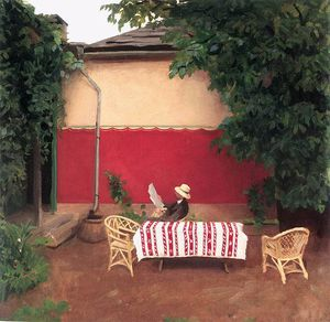 Karoly Ferenczy - rot wand