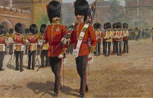 Harry Payne - Die Coldstream Guards Ändern Wache im St. James