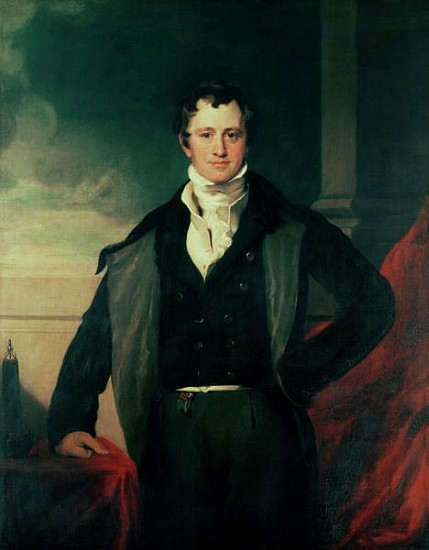 Sir Humphry Davy von Henry William Pickersgill (1782-1875, United Kingdom) | Kunst-Wiedergabe | WahooArt.com