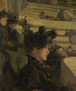 Isaac Israels - an theater