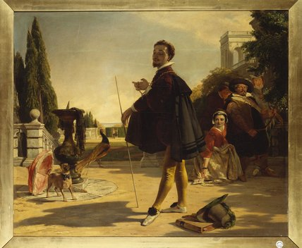 Shakespeare, von John Callcott Horsley (1817-1903, United Kingdom)