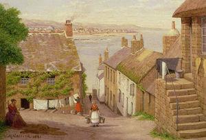 John Mulcaster Carrick - View Of Penzance Von Newlyn