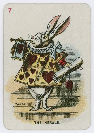 die die herold von John Tenniel (1820-1914, United Kingdom)