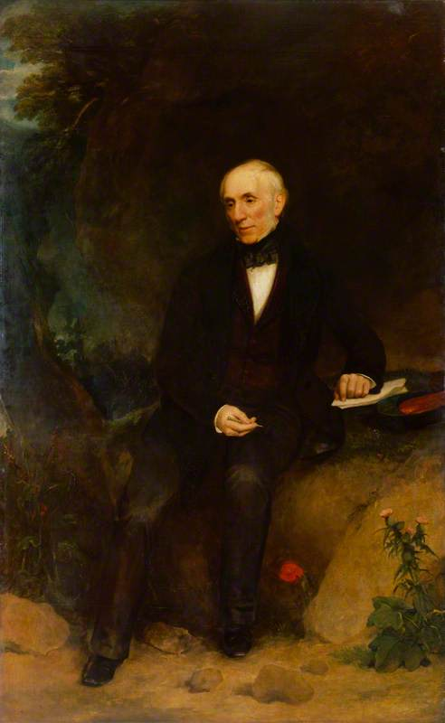 Wordsworth von Henry William Pickersgill (1782-1875, United Kingdom) | Malerei Kopie | WahooArt.com